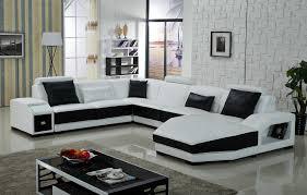 white u shaped sofa leather sofa pinterest living room plan