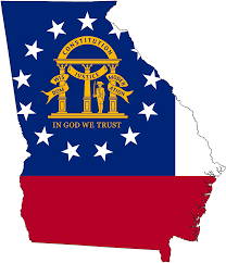 Facts About Georgia State Flag United States Flag Map By Heersander On Deviantart Us State Flags