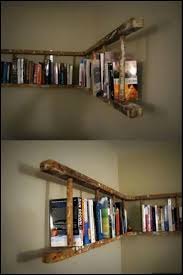 Bookcase With Ladder Best 25 Old Ladder Shelf Ideas On Pinterest Ladders Old Wooden