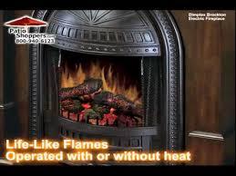 Dimplex Electric Fireplace Insert Dimplex Brockton Bw Brockton Indoor Electric Fireplace Package