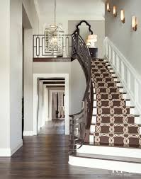 a bad fiber for a stair runner a difficult staircase laurel home