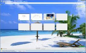 google themes lights beach in the maldives chrome web store