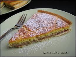 quand nad cuisine tarte amandine à la confiture quand nad cuisine