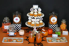 Vegetarian Halloween Appetizers by Halloween Treats Table U2013 Glorious Treats