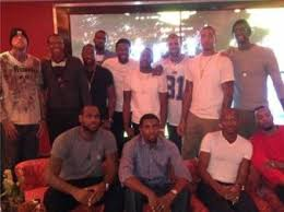 the miami heat s thanksgiving at lebron s house business insider