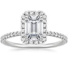 engagement rings emerald cut emerald cut engagement rings brilliant earth