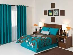 Turquoise And Brown Bedding Sets Curtains Ideas Bedspreads And Matching Curtains Set Inspiring