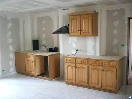 renovation porte de cuisine meuble cuisine en chene great meuble cuisine chene beautiful cuisine