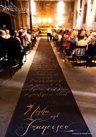 personalized wedding aisle runner great idea print banner for wedding aisle http