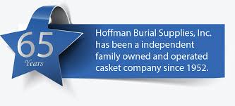 casket companies hoffman burial supplies inc