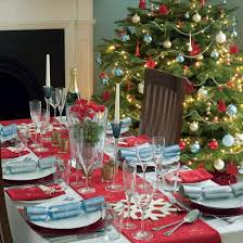 how to decorate a table for tree decorations