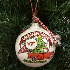 shop virginia tech ornaments here at alumni