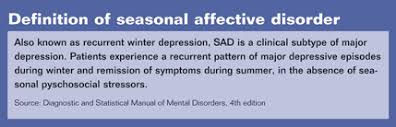 Seasonal Affective Disorder Light Therapy Ocular Mechanism Key To Light Therapy For Seasonal Affective Disorder