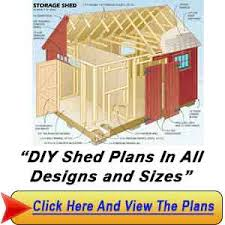 diy shed plans free u2013 making your own shed fast and easy