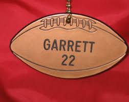 engraved football gifts football ornament football player gift football player