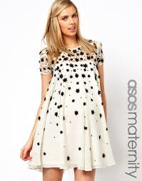 asos maternity asos maternity exclusive swing dress with floral