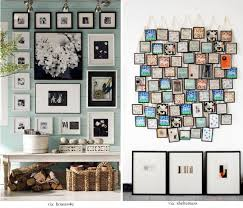 picture frame wall art ideas irrational 50 cool to display family