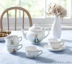 beatrix potter tea set beatrix potter tea set pottery barn kids