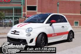 Fiat 500 Abarth White Fiat 500 Abarth Hatchback In Missouri For Sale Used Cars On