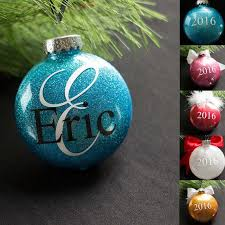 personalized ornament 2017 ornament monogram ornament