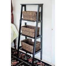 Brown Ladder Shelf Step Ladder Shelf Furniture4u