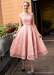 pretty cocktail dresses bateau neck cap sleeves lace with pearls