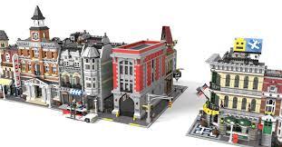 Lego Headquarters Lego Ghostbusters Headquarters Modular Scale Lego Licensed