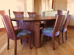 Solid Walnut Dining Chairs by Solid Walnut