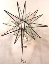 moravian tree topper stained glass moravian tree topper by abjglassworks on etsy