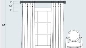 where to hang curtains how to hang curtain rods wolflab co