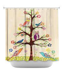 sascalia owl bird tree ii shower curtain products i find