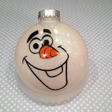 olaf ornament balls olaf ornament and