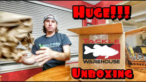 tackle warehouse black friday sale huge tackle warehouse unboxing youtube