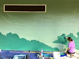 sunset elementary mural journal artist duo wooden wave matt and roxy ortiz are currently starting two murals at sunset beach elementary on the north shore of oahu hawaii