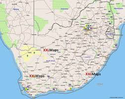 Kalahari Desert Map Tourist Map Of South Africa Free Download For Smartphones