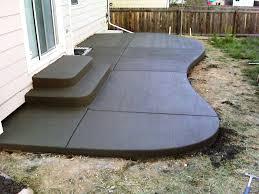 Sted Concrete Patio Designs 22 Awesome Pergola Patio Ideas Moreraised Concrete Deck Designs