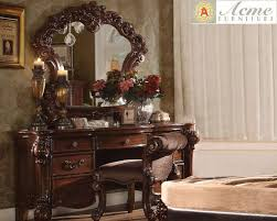 3 Piece Vanity Set Vendome Cherry 3 Piece Vanity Set Featuring Luxury Moldings