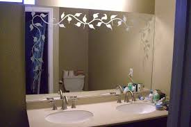 Glass Mirrors For Bathrooms Decorative Mirrors Sans Soucie Glass