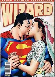 superman the wedding album image superman the wedding album wizard 63 wedding jpg