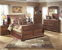 Bedroom Dresser With Mirror Timberline 5 Pc Bedroom Dresser Mirror Sleigh Bed