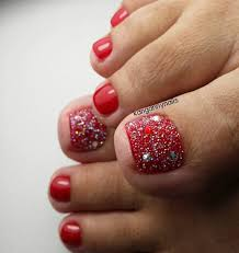 red toe nail art toe nail art pinterest toe nail art toe
