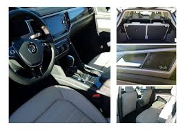 volkswagen atlas interior the 2018 vw atlas is king of the carpool lane