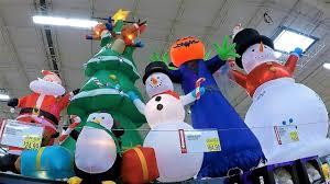 4k christmas section at bj u0027s wholesale club christmas shopping