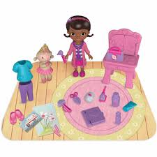 Doc Mcstuffins Home Decor Just Play Doc Mcstuffins On The Go Lambie Playset Walmart Com