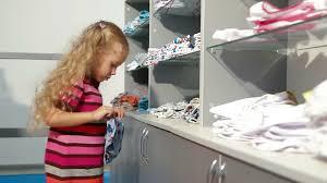 Little Girls Clothing Stores Little Shopping For Girls Clothes In A Clothing Store