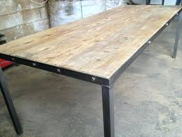 Reclaimed Timber Dining Table Amazing Steel Frame Dining Table Large Size Of Pipe Dining Table