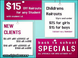 Best 25 Salon Promotions Ideas Thursday Haircut Specials Online For Weekly Specials Blushing