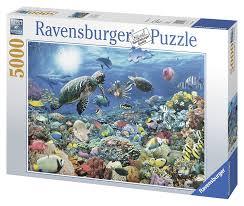 amazon com ravensburger beneath the sea 5000 piece puzzle toys