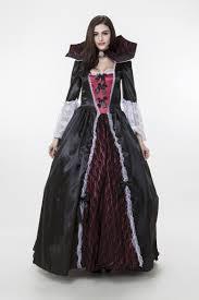 costumes vampire gothic costume halloween queen dark ghost