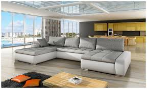 Grey Corner Sofa Bed Corner Sofa Bed White Grey Minimalist Apartement Furniture